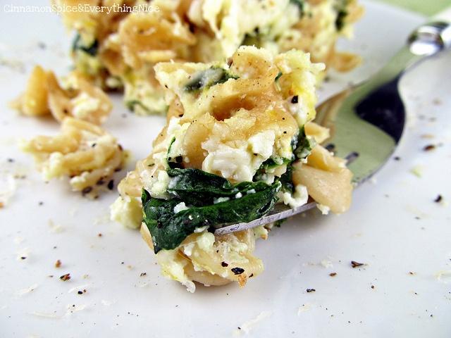Baked Three Cheese Lemon Pepper Pasta   Recipe