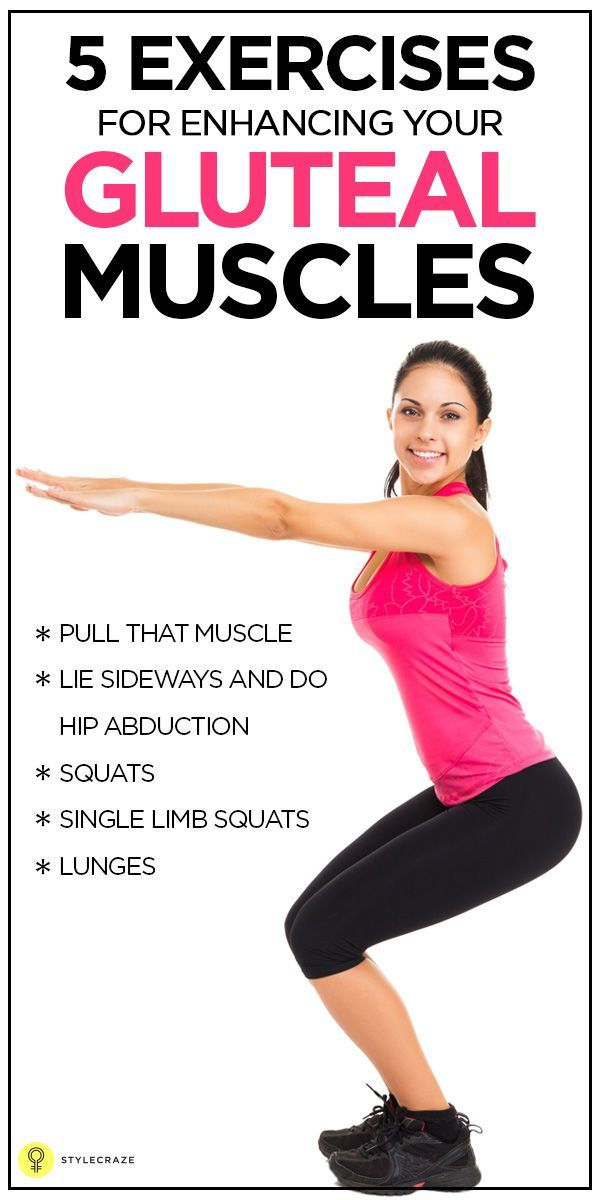 Top 5 Exercises For Enhancing Your Gluteal Muscles