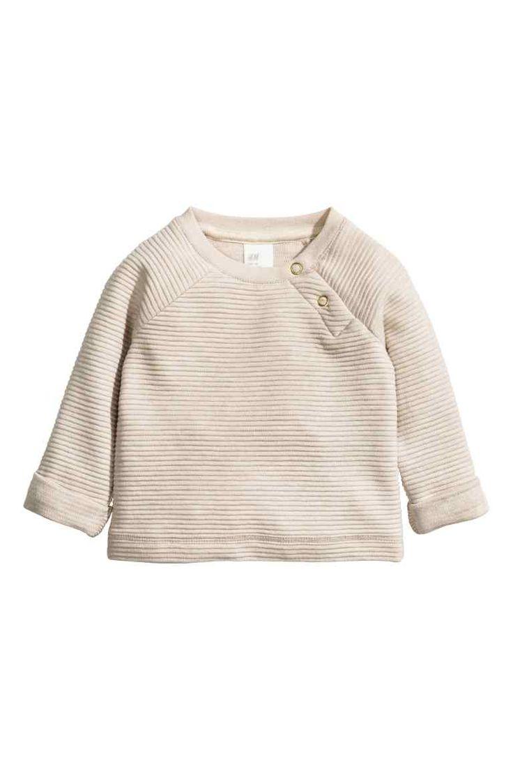 Fionnuala - 1.5-2Y (£14.99) Textured sweatshirt | H&M
