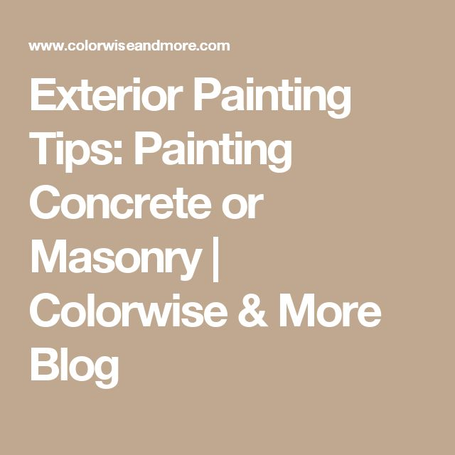 Best 25 exterior concrete paint ideas on pinterest for Exterior mural painting techniques