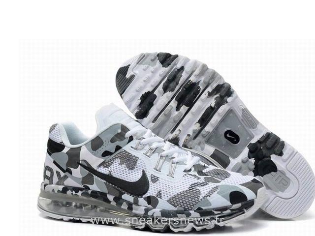 Nike Air Max 2013 Camo Enfant Chaussures Gris Basket Air Max Enfant