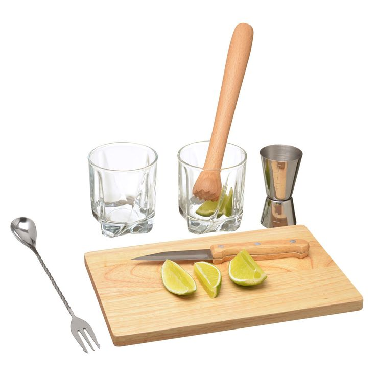 Verre Coffret Cocktail Caipirinha Coffret Cocktail Caipirinha