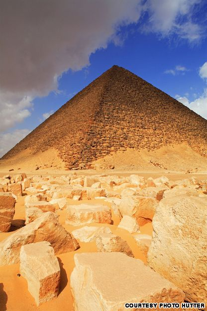 Pyramids of Giza, Egypt The most famous of the structures at Giza,
