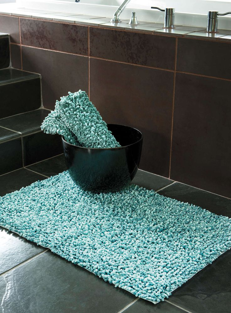 Turquoise Bathroom Rugs Home Decor