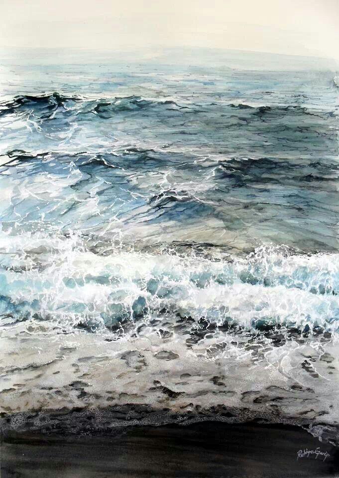 Meer schwarz weiß blau                                                                                                                                                     More