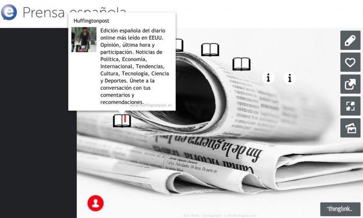 EducaglobalLa prensa en la clase de ELE – ¿Cuándo trabajamos con la prensa? Es una pregunta que suelen hacerme con bastante frecuencia mis estudiantes. De hecho, quienes preguntan esto ya se siente preparados para adentrarse en el abismo del lenguaje periodístico, que personalmente me parece bastante complejo para ellos, aunque he de reconocer que tiene una riqueza... #prensa #thinglink