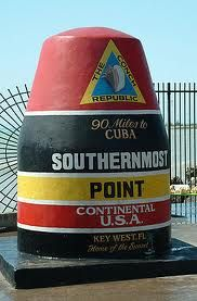 Southernmost point key west.... My favorite place to spend Christmas