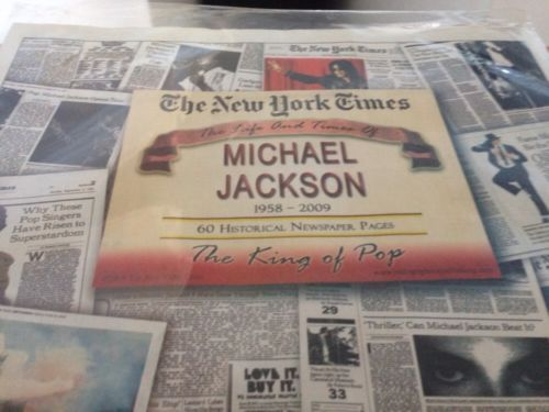 The Mew York Times The Life And Times If Michael Jackson Still Sealed - http://www.michael-jackson-memorabilia.com/?p=15567