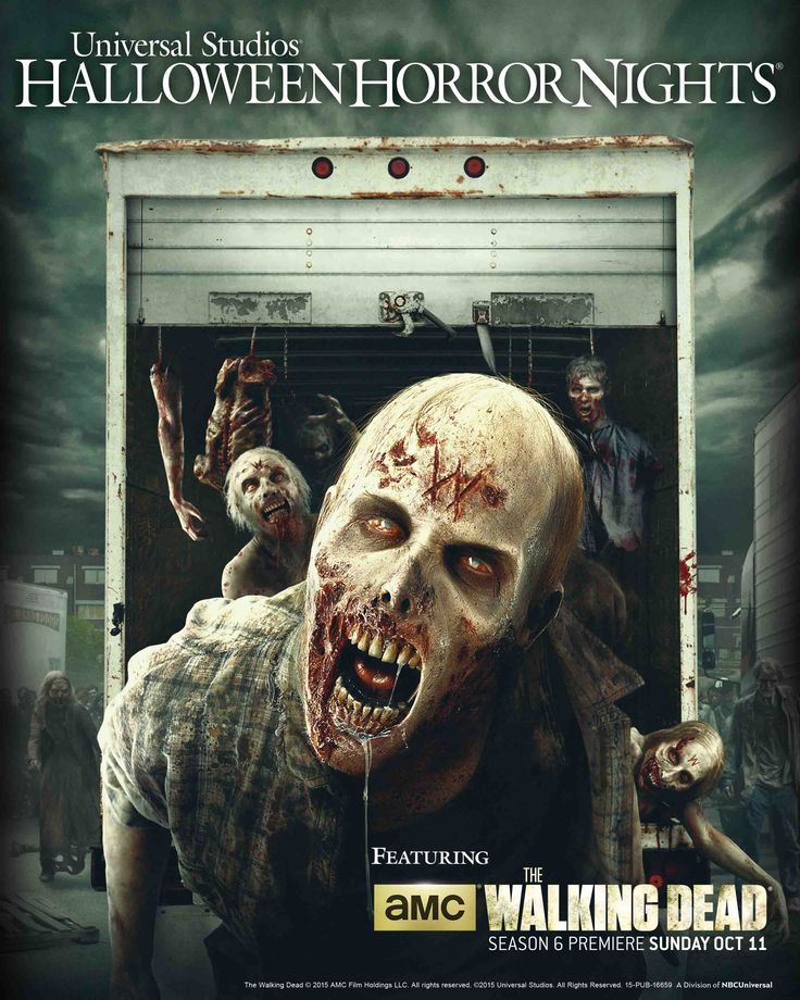 'The Walking Dead' Returns to Halloween Horror Nights Hollywood & Orlando