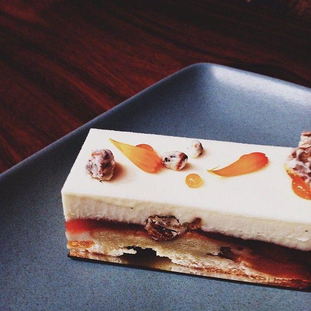 Peach Buttermilk Cube / Jennifer Chong @jchongdesign on #instagram