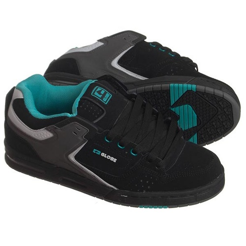 Globe Shoes Black Gray