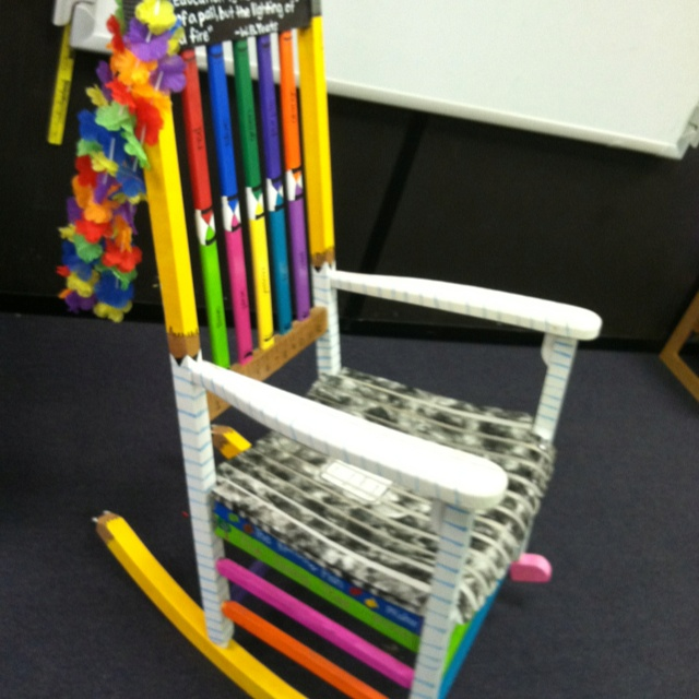 Razorback Classroom Decor : Best images about rocking chair project on pinterest