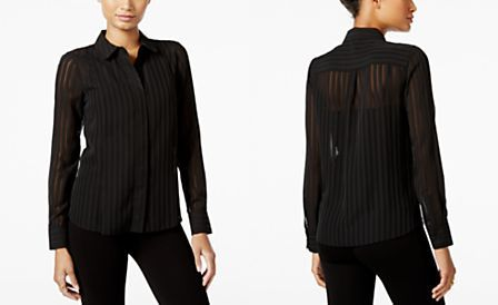 Tommy Hilfiger Shadow-Stripe Shirt