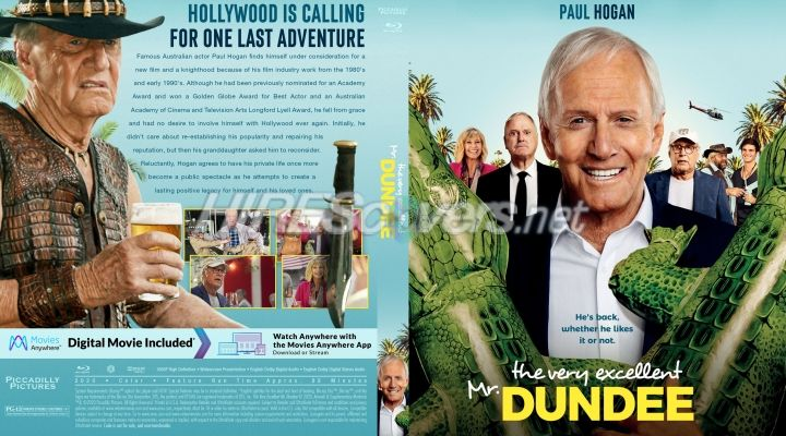 Very Excellent Mr Dundee The 2020 Custom Blu Ray Cover In 2020 Custom Dvd Dvd Covers Movie Covers