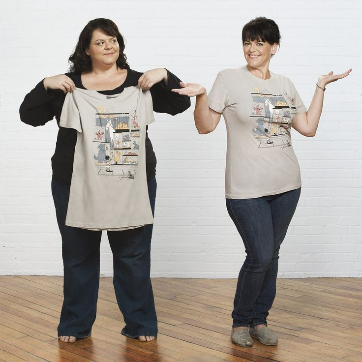 """Morrow says Photoshop was used, but that he didn't alter Beth's body shape: """"I was determined to use it in a way that would encourage and inspire people while being true to the heart of my subject.""""   A Photographer Captured A Woman's Dramatic Weight Loss With Creative Before-And-After Portraits"""