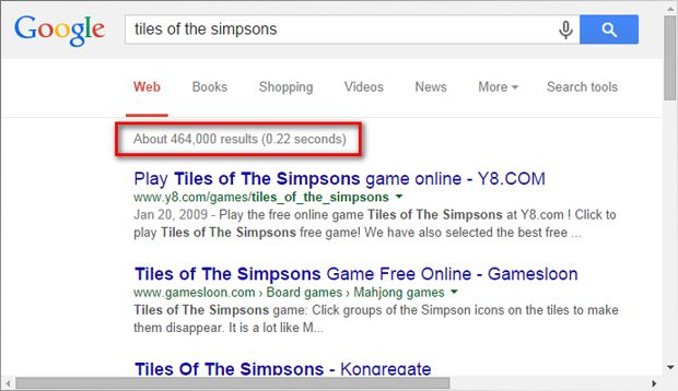 Tiles of The Simpsons as mobile app   Indiegogo About 464,000 results = Worldwide spread https://www.google.com/search?output=search&q=tiles+of+the+simpsons&qscrl=1