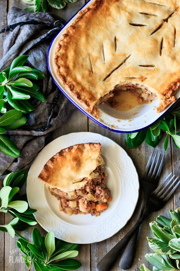Old Fashioned Corned Beef Pie