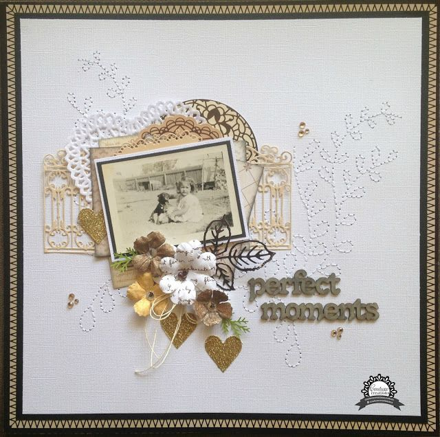 Artdeco Creations Brands: Perfect moments by Jo Simons #couturecreationsaus #artdecocreations #ultimatecrafts #annagriffin