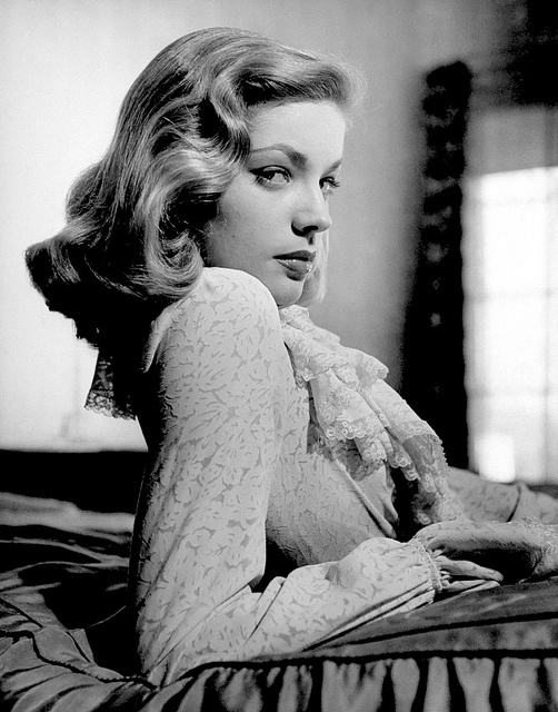 Lauren Bacall -- my favourite hair style, possibly ever