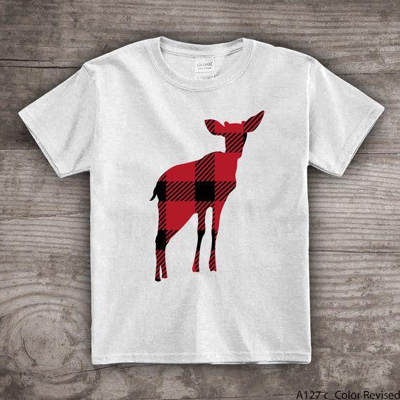 Garçonnets vêtements filles tops t-shirts cerf de bébé par StoykoTs