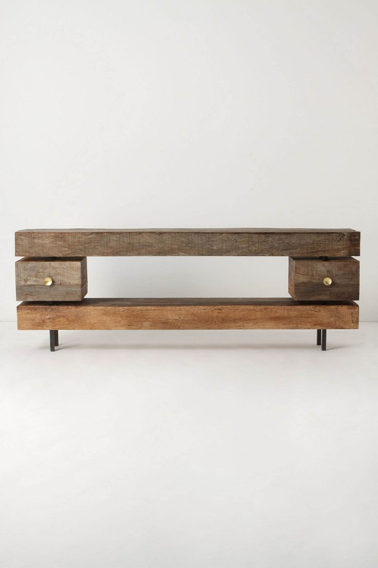 WOOD DESIGN INSPIRATION || Console Table || #wood #console #table #furniture