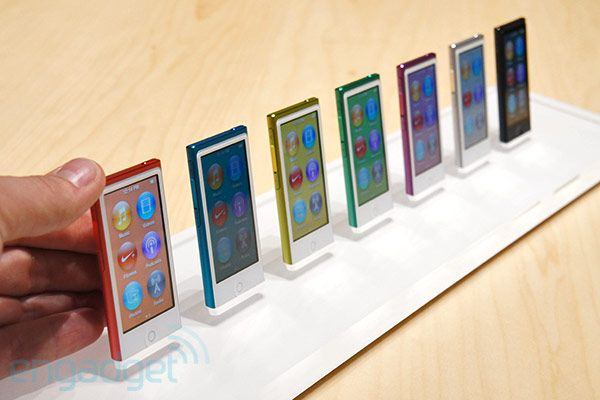 7th-generation iPod nano hands-on!