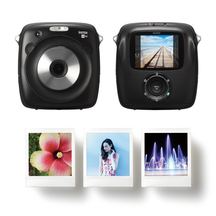 "FUJIFILM Corporation (President: Kenji Sukeno) is pleased to announce that the company will launch the hybrid instant camera instax SQUARE SQ10 with the new square format film ""instax SQUARE Film"" on May 19, 2017. The SQ10 is the first hybrid camera within its range equipped with"