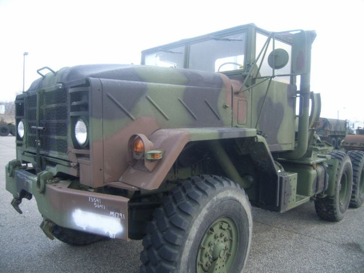 Military Vehicles For Sale >> This Truck Tractor is for sale! Bidding starts at $25 ...