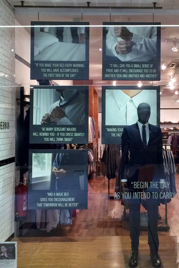 www.retailstorewindows.com: Ben Sherman, London