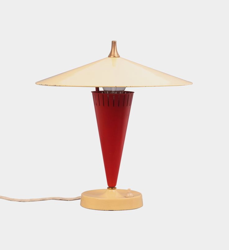 Desk lamp, 1950s  #forform #vintage #lamp #vintagelamps #1950s #50s