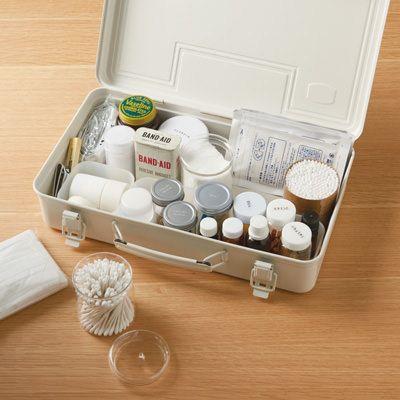 MUJI steel tool boxニュアンスのある白が素敵♡無印良品の「スチール工具箱」は収納アイテムとして大人気! - Yahoo! BEAUTY