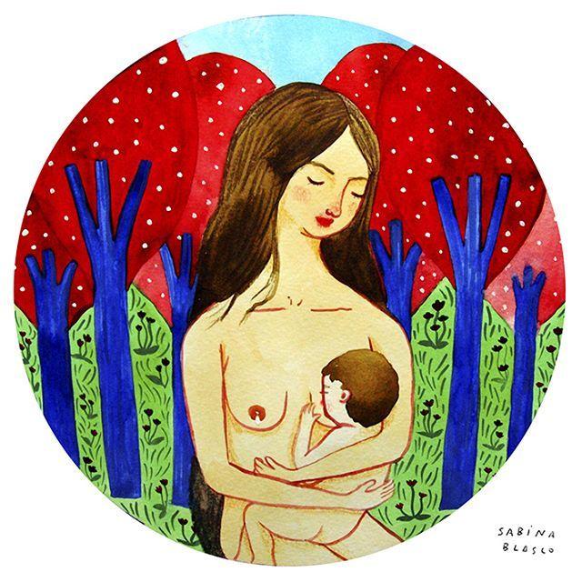 OXITOCINA  Dar de mamar en libertad es empoderarse una misma a través de la maternidad. #ilustracion #acuarela #boceto #cuadernodebocetos #dibujo #lactancia #maternidad #mumpower #crianzaconapego #crianzanatural #empoderamiento #naturaleza #somosmamíferos #illustration #watercolor #lapicesdecolor #colourpencils #sketch #sketchbook #drawing #nursing #breast #naturalnurture #empowerment #sabinablasco