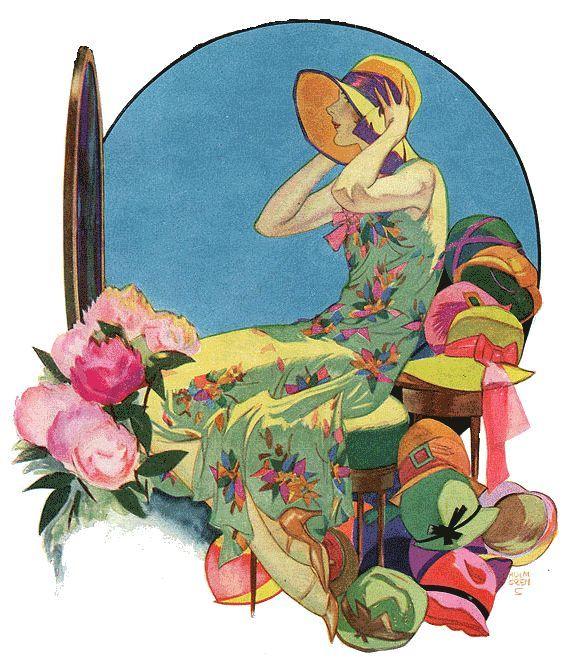 Collier's Magazine illustration by Jon Holmgren, 1929