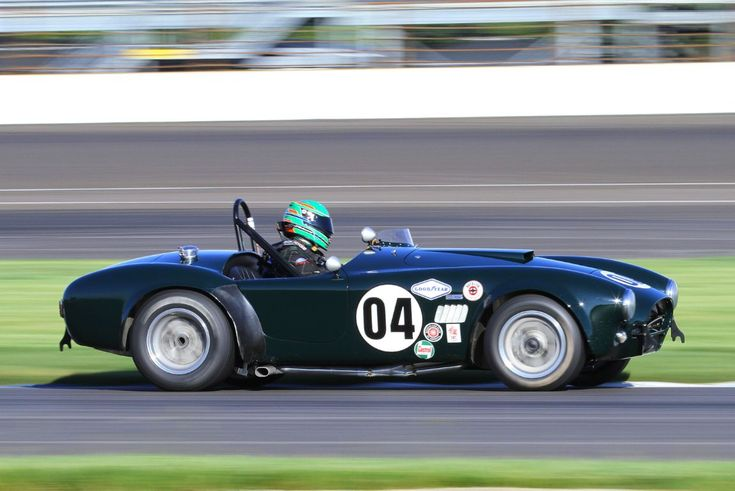 John McKenna, 63 Shelby Cobra at SVRA Indy Brickyard Invitational 2014