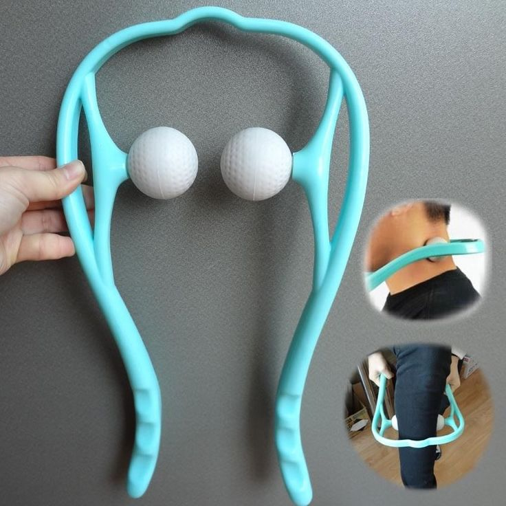 Roller Ball Self-massage Tool for Neck, Back, Shoulder pain Massager