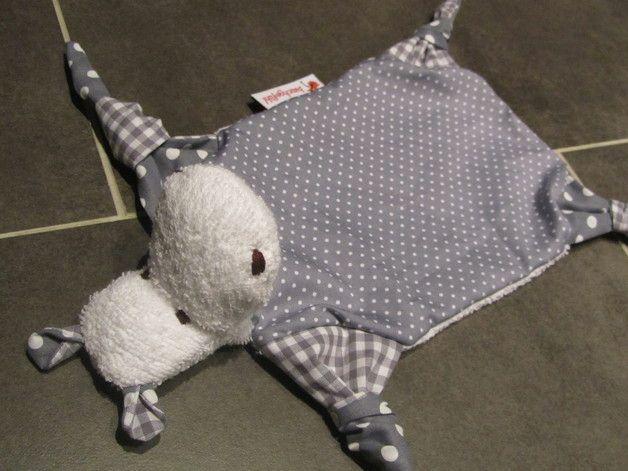 #Schmusetuch Nilpferd - ein Designerstück von das-bauchgefuehl bei DaWanda
