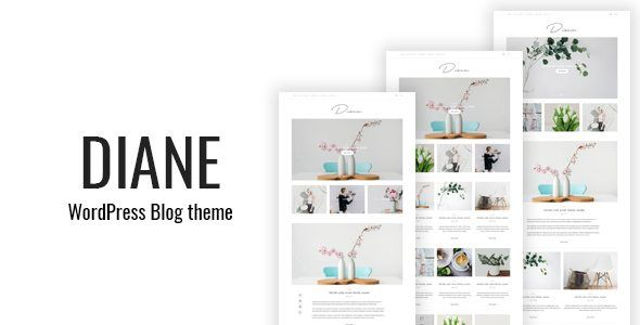 Download Diane - Clean WordPress Blog Theme (Personal) Nulled