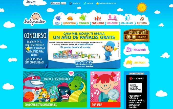 Babyradio, la radio online para los más pequeños