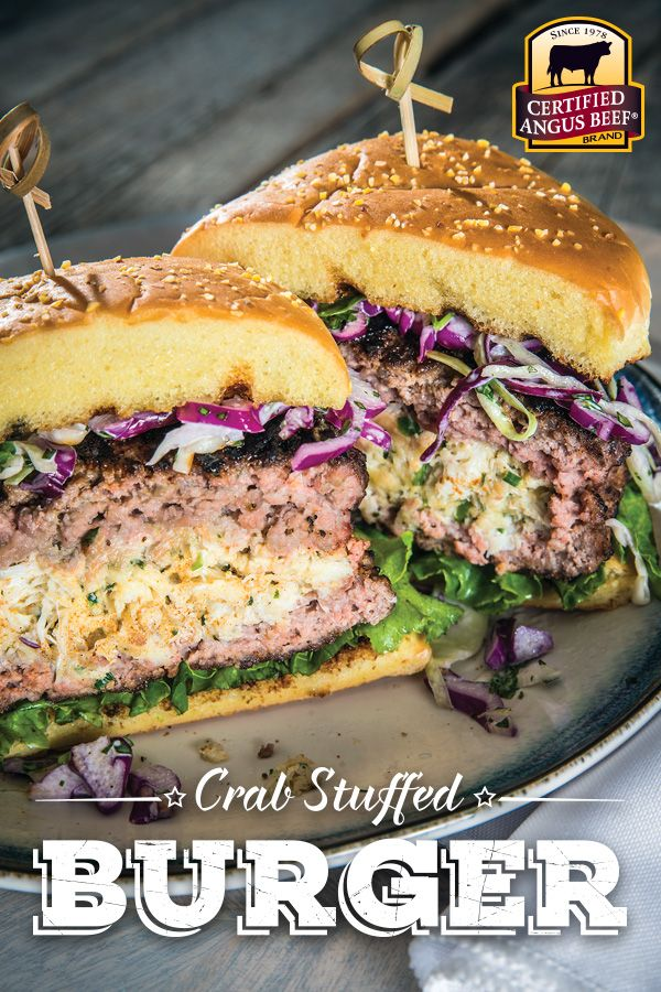 Create a burger that heralds the fresh seafood flavors of Chesapeake Bay!