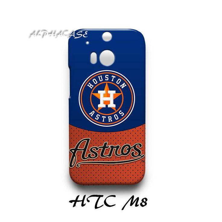 Houston Astros HTC M8 Hardshell Case Cover