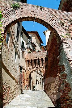 Lari. Pisa. Tuscany. Italy.