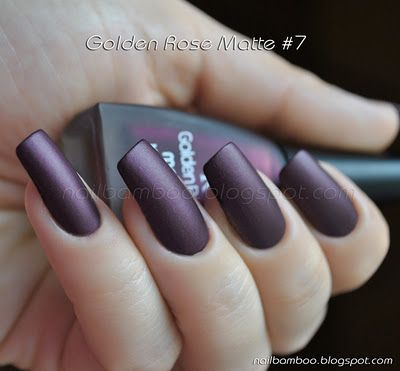 nailbamboo: Golden Rose