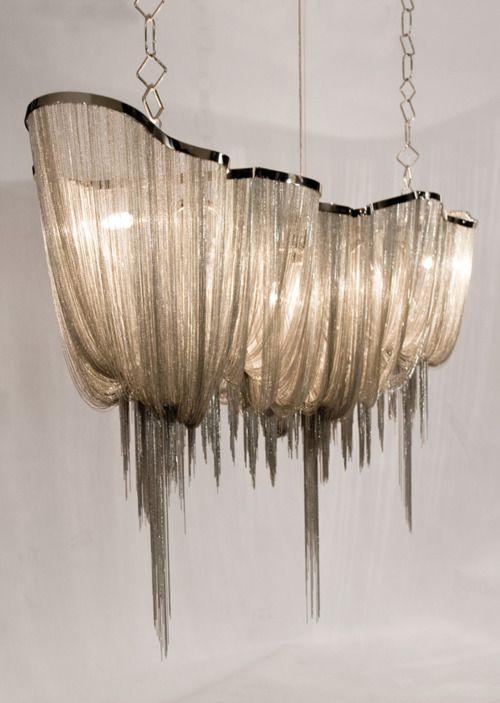 chic chandelier | 'Atlantis 1000' Chandlier by Designer Barlas Bayar for Hudson Furniture