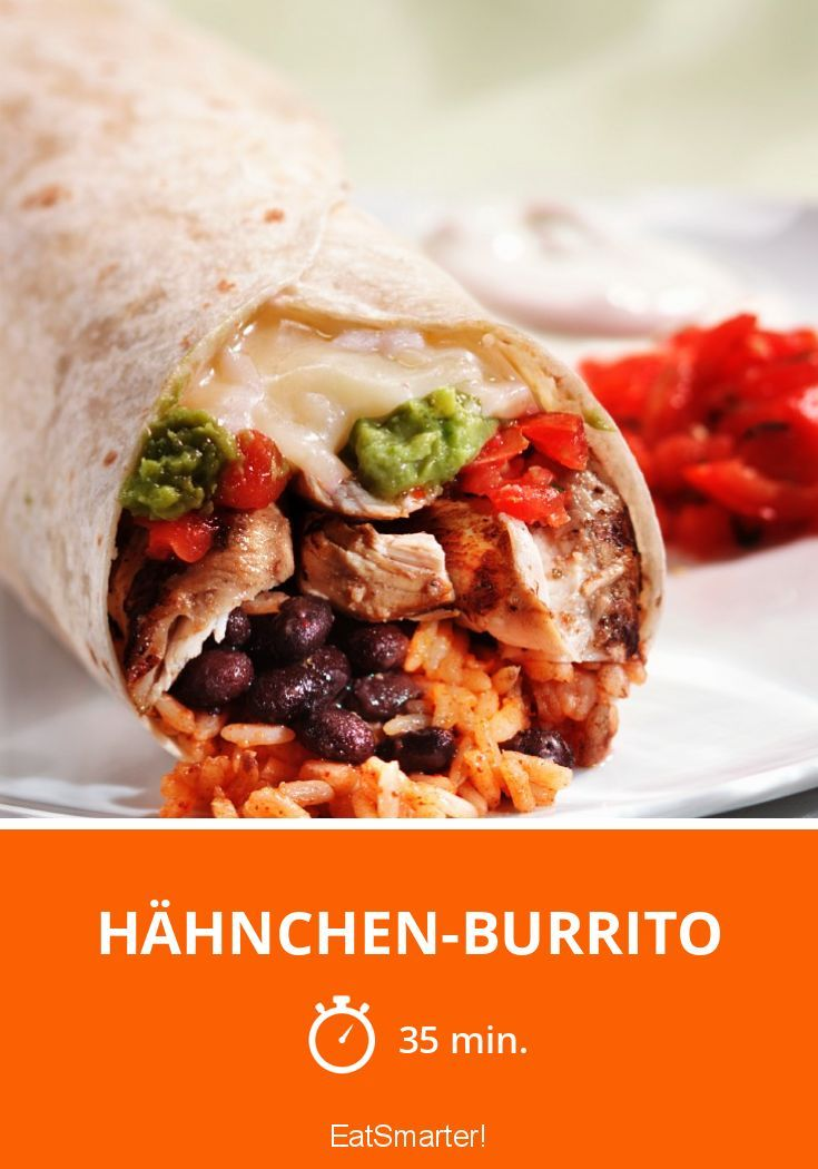 Hähnchen-Burrito - smarter - Zeit: 35 Min. | eatsmarter.de