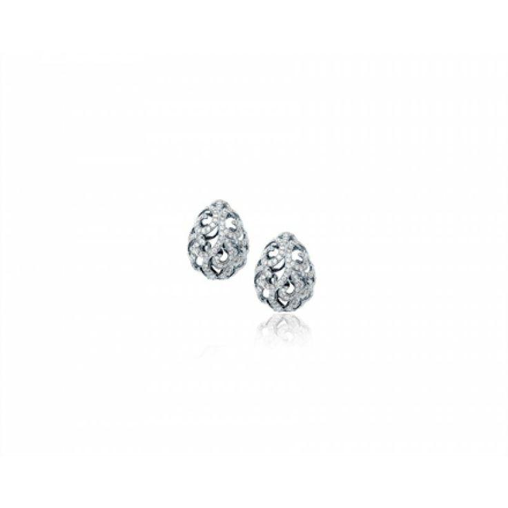 Whispering Teardrop Earrings by Fei Liu - White Gold/Diamond #jewellery #feiliu #necklace #luxury #earrings