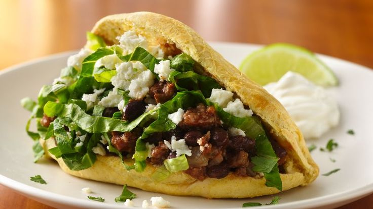 Gorditas go Grand with honey butter biscuits plus beef and bean fillings extraordinaire.