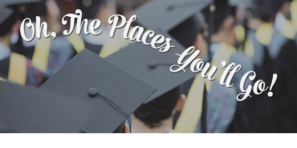 Honor your graduates as they embark on a new journey.  Enter code: CONGRATS to save $10 on your $50 order.