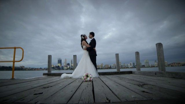 The Wedding of Paul & Natasha    Ceremony: Holy Rosary Church, Nedlands  Reception: Boatshed, South Perth