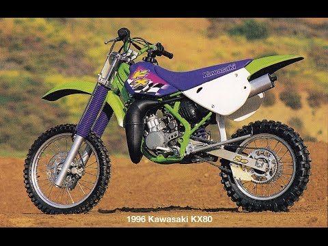 Kawasaki KX80, KX85 and KX100 Mini Motocross History