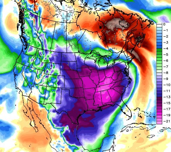 Record cold coming to 'almost entire USA' – Low temperature records set to be SHATTERED